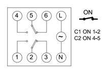 схема подключения ASTROCLOCK-2