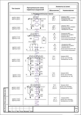схема ЩО70 стр 3