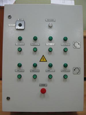 шкаф управления асинхронными двигателями