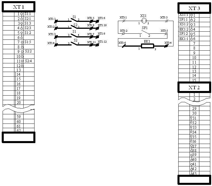 Схема электрическая язв 120